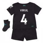 Liverpool Third Baby Kit 2019-20 with Virgil 4 printing