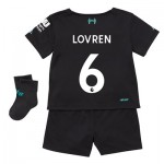 Liverpool Third Baby Kit 2019-20 with Lovren 6 printing