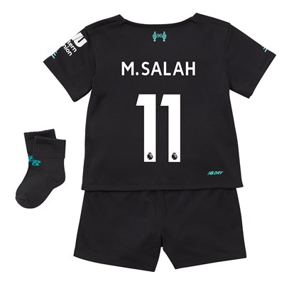 Liverpool Third Baby Kit 2019-20 with M.Salah 11 printing