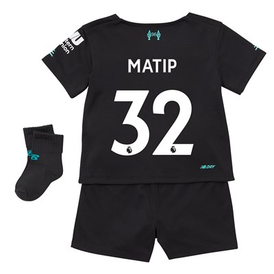 Liverpool Third Baby Kit 2019-20 with Matip 32 printing