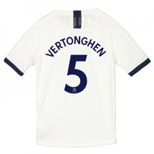 Tottenham Hotspur Home Vapor Match Shirt 2019-20 - Kids with Vertonghen 5 printing