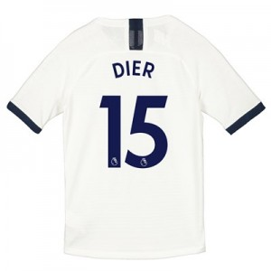 Tottenham Hotspur Home Vapor Match Shirt 2019-20 - Kids with Dier 15 printing