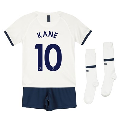Tottenham Hotspur Home Stadium Kit 2019-20 - Little Kids with Kane 10 printing