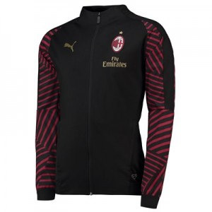 AC Milan Training Stadium Jacket - Black