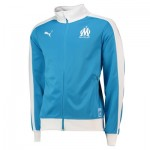 Olympique de Marseille T7 Track Jacket - Dark Blue