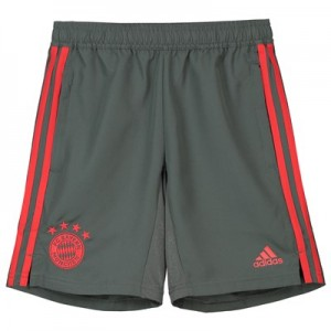 FC Bayern Training Woven Short - Dark Green - Kids