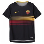 AS Roma Pre Match Top - Black - Kids