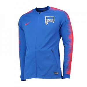 Hertha Berlin Anthem Jacket - Blue