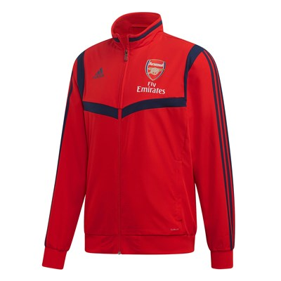 Arsenal Pre Match Jacket - Red