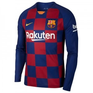 Barcelona Home Stadium Shirt 2019-20 - Long Sleeve