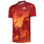 AS Roma Pre Match Training Top - Gold
