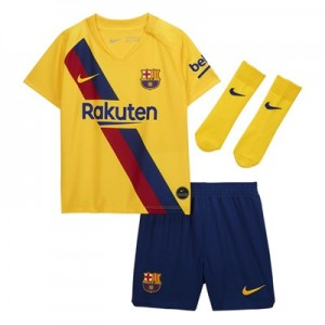 Barcelona Away Stadium Kit 2019-20 - Infants