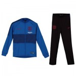 Barcelona Strike Training Tracksuit - Blue - Kids
