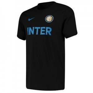 Inter Milan Match T-Shirt - Black
