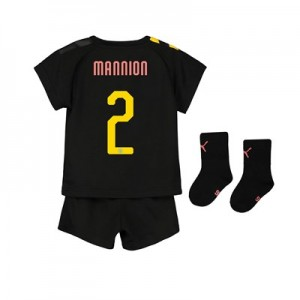 Manchester City Cup Away Baby Kit 2019-20 with Mannion 2 printing
