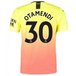 Manchester City Authentic Third Shirt 2019-20 with Otamendi 30 printing