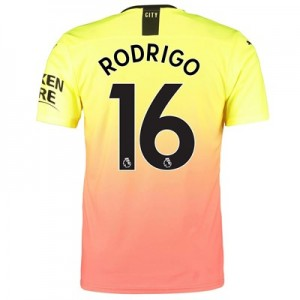 Manchester City Authentic Third Shirt 2019-20 with Rodrigo 16 printing