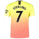 Manchester City Authentic Third Shirt 2019-20 with Sterling 7 printing