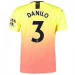 Manchester City Authentic Third Shirt 2019-20 with Danilo 3 printing