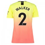 Manchester City Authentic Third Shirt 2019-20 - Womens with Walker 2 printing