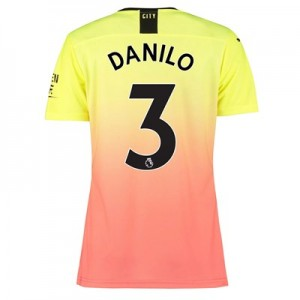 Manchester City Authentic Third Shirt 2019-20 - Womens with Danilo 3 printing