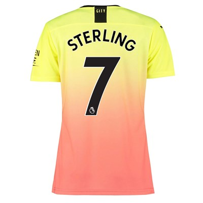 Manchester City Authentic Third Shirt 2019-20 - Womens with Sterling 7 printing