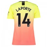 Manchester City Authentic Third Shirt 2019-20 - Womens with Laporte 14 printing