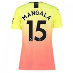 Manchester City Authentic Third Shirt 2019-20 - Womens with Mangala 15 printing
