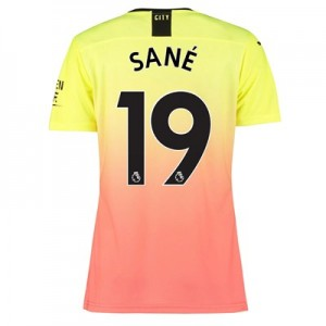 Manchester City Authentic Third Shirt 2019-20 - Womens with Sané 19 printing