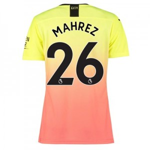 Manchester City Authentic Third Shirt 2019-20 - Womens with Mahrez 26 printing