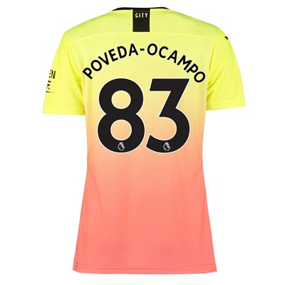 Manchester City Authentic Third Shirt 2019-20 - Womens with Poveda-Ocampo 83 printing