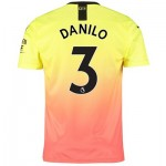 Manchester City Third Shirt 2019-20 with Danilo 3 printing