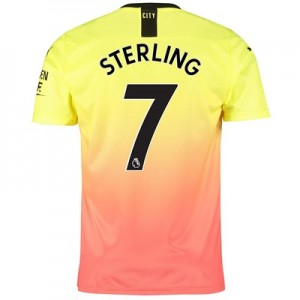 Manchester City Third Shirt 2019-20 with Sterling 7 printing
