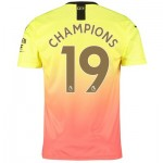 Manchester City Third Shirt 2019-20 with Champions 19 printing