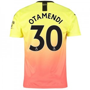 Manchester City Third Shirt 2019-20 with Otamendi 30 printing