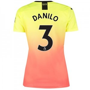 Manchester City Third Shirt 2019-20 - Womens with Danilo 3 printing