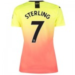 Manchester City Third Shirt 2019-20 - Womens with Sterling 7 printing