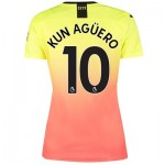Manchester City Third Shirt 2019-20 - Womens with Kun Agüero  10 printing