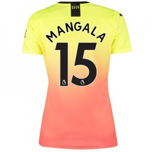 Manchester City Third Shirt 2019-20 - Womens with Mangala 15 printing