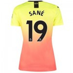 Manchester City Third Shirt 2019-20 - Womens with Sané 19 printing