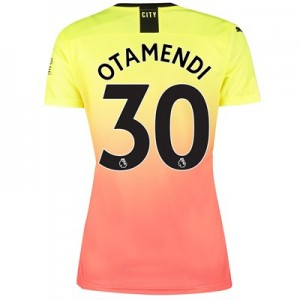 Manchester City Third Shirt 2019-20 - Womens with Otamendi 30 printing