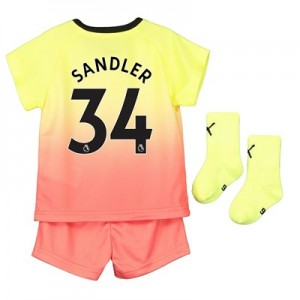 Manchester City Third Baby Kit 2019-20 with Sandler 34 printing