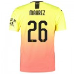 Manchester City Authentic Cup Third Shirt 2019-20 with Mahrez 26 printing
