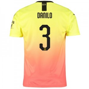 Manchester City Cup Third Shirt 2019-20 with Danilo 3 printing