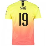 Manchester City Cup Third Shirt 2019-20 with Sané 19 printing