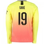 Manchester City Cup Third Shirt 2019-20 - Long Sleeve with Sané 19 printing
