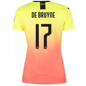 Manchester City Cup Third Shirt 2019-20 - Womens with De Bruyne 17 printing