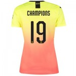 Manchester City Cup Third Shirt 2019-20 - Womens with Champions 19 printing