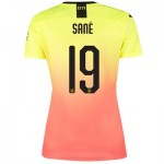 Manchester City Cup Third Shirt 2019-20 - Womens with Sané 19 printing