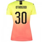 Manchester City Cup Third Shirt 2019-20 - Womens with Otamendi 30 printing